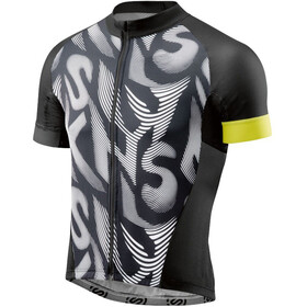 Skins Cycle Classic Fietsshirt korte mouwen Heren wit/zwart